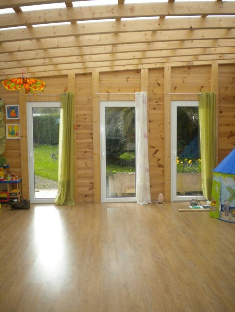 Wood Room for activities